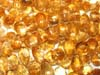Faceted citrine  Drops from orissagems