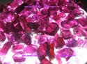 Rhodolite rough, Violet color, faceted grade rough from orissa gems
