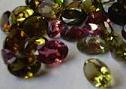 Multi color tourmaline, with good luster from orissa gems