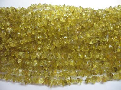 super quality lemon quartz uncut chips, Orissa gems Exporters